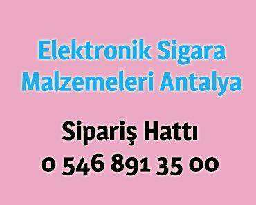 elektronik sigara malzemeleri satışı antalya