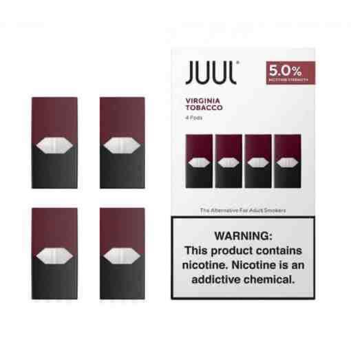 JUUL Pod Virginia Tobacco Amerikan Tütün Aromalı Kartuş